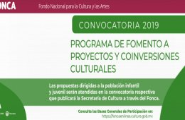 Program of Encouragement for Cultural Projects and Co-Inv...