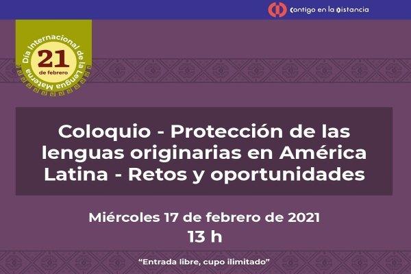 El INALI participa en coloquio sobre lenguas indígenas en América Latina: Retos y oportunidades
