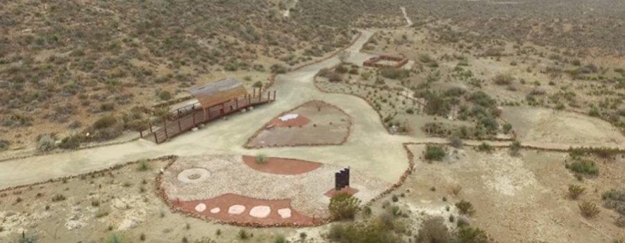 Rincón Colorado, primera zona paleontológica abierta al público en el país