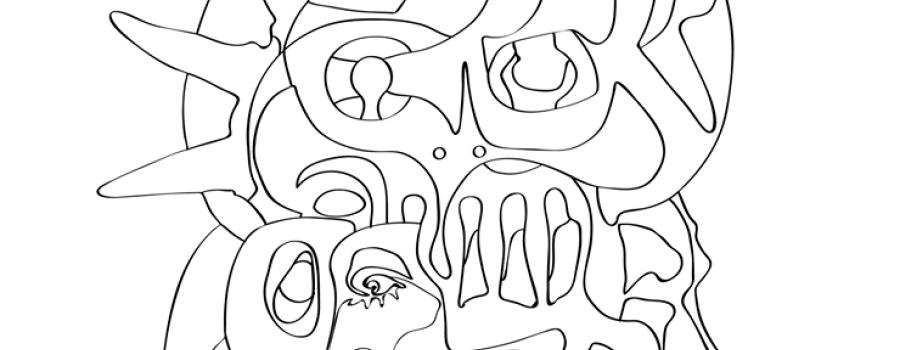 Árbol de la vida: obra para colorear