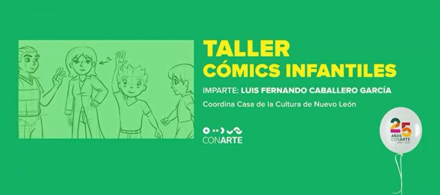 Taller de cómics infantil