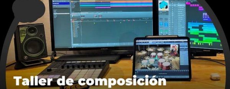 Taller de composición y producción musical 4. Grabación en Home Studio