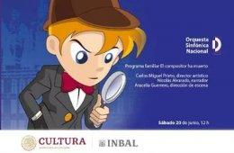 Orquesta Sinfónica Nacional. Concierto Familiar 2: El co...