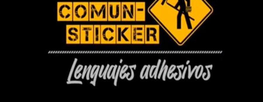 COMUN-STICKER. Lenguajes adhesivos