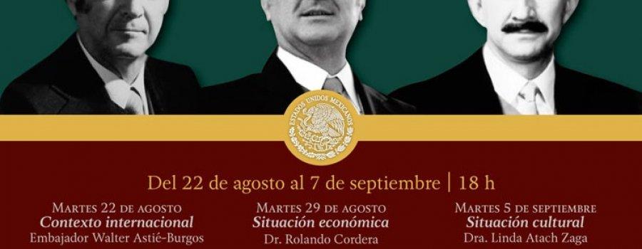 La década de 1980. Gobierno de los presidentes José López Portillo, Miguel de la Madrid y Carlos Salinas de Gortari