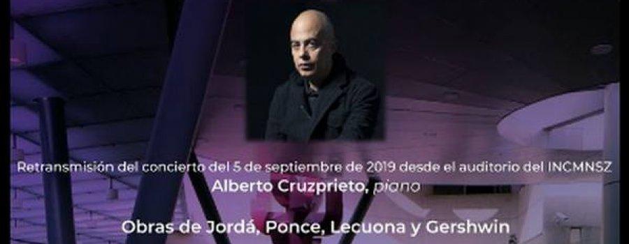 Concertistas de Bellas Artes con Alberto Cruzprieto