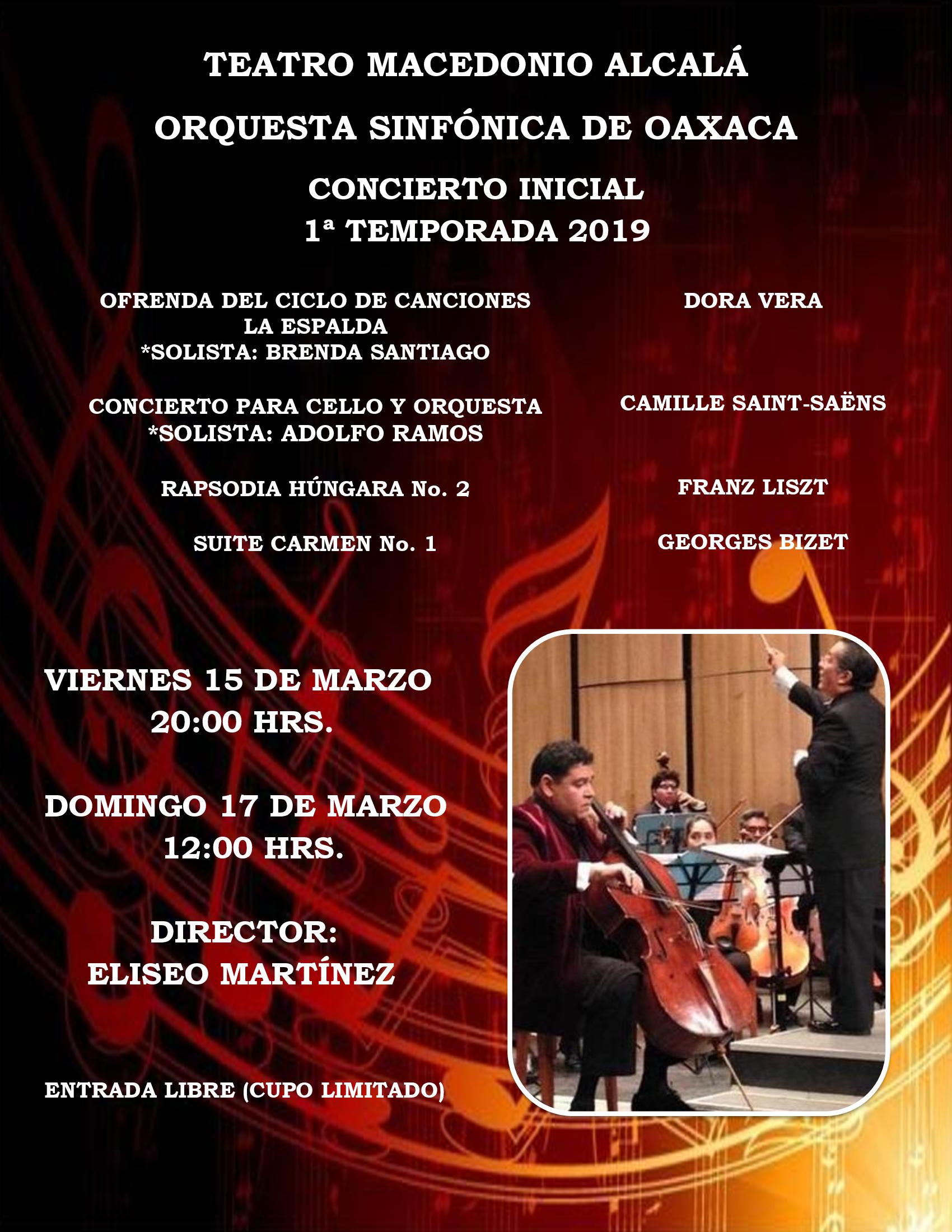 Orquesta Sinfónica de Oaxaca - Concierto 1