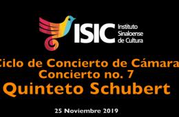 Ciclo de Concierto de Cámara No. 7, Quinteto Schubert