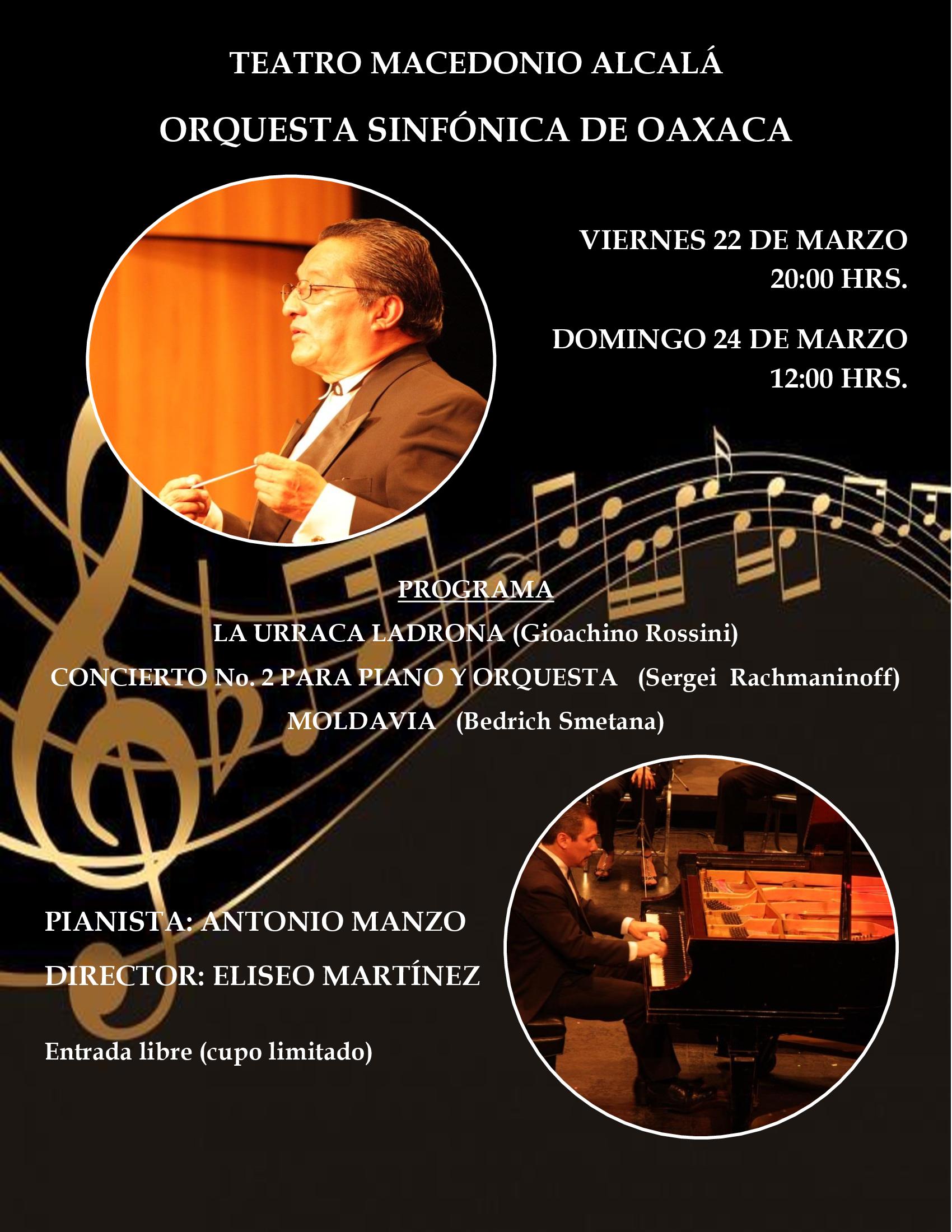 Orquesta Sinfónica de Oaxaca - Concierto 2