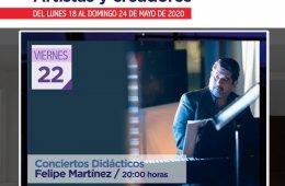 Conciertos didácticos: Felipe Martínez