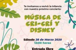 Música de Cri-Crí y Disney