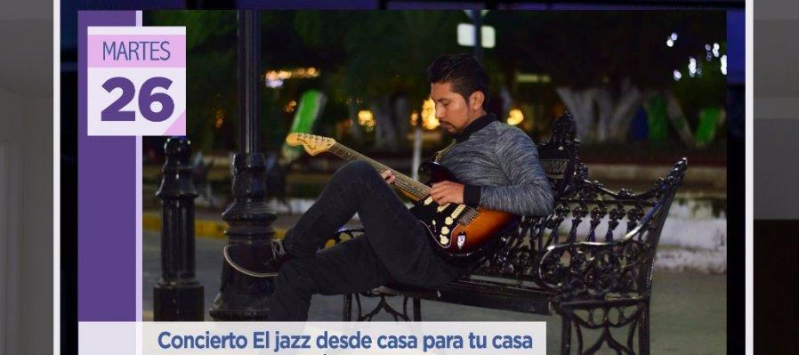 Concierto: El jazz desde casa para tu casa