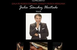 Gala de Música Italiana, Tango y Música Mexicana