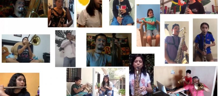 Banda Sinfónica Infantil y Juvenil Secretaría de Cultura de Colilma