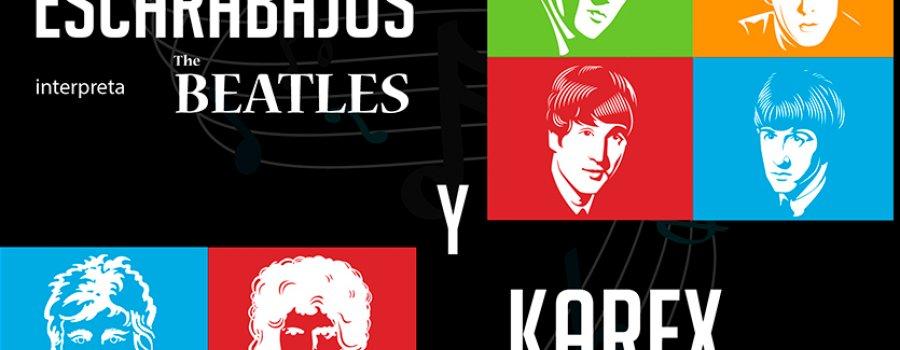 Los Escarabajos y Karex, juntos por primera vez