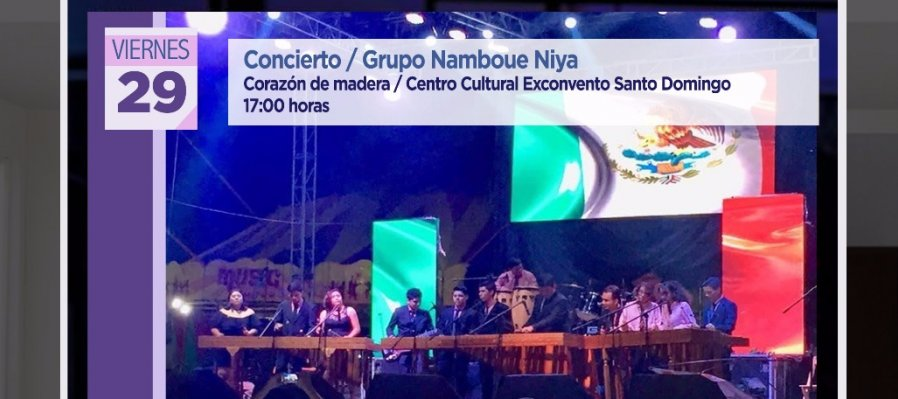 Concierto: Grupo Namboue Niya