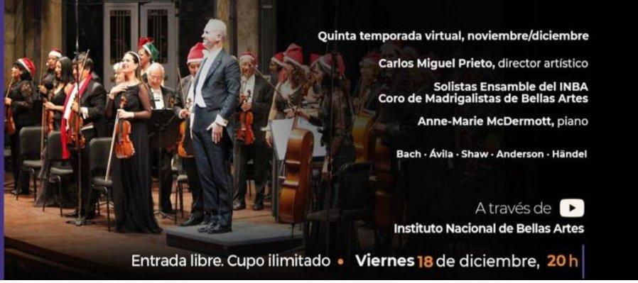 Concierto Navideño con la Orquesta Sinfónica Nacional