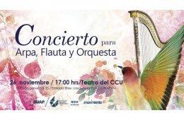 Concierto para arpa, flauta y orquesta