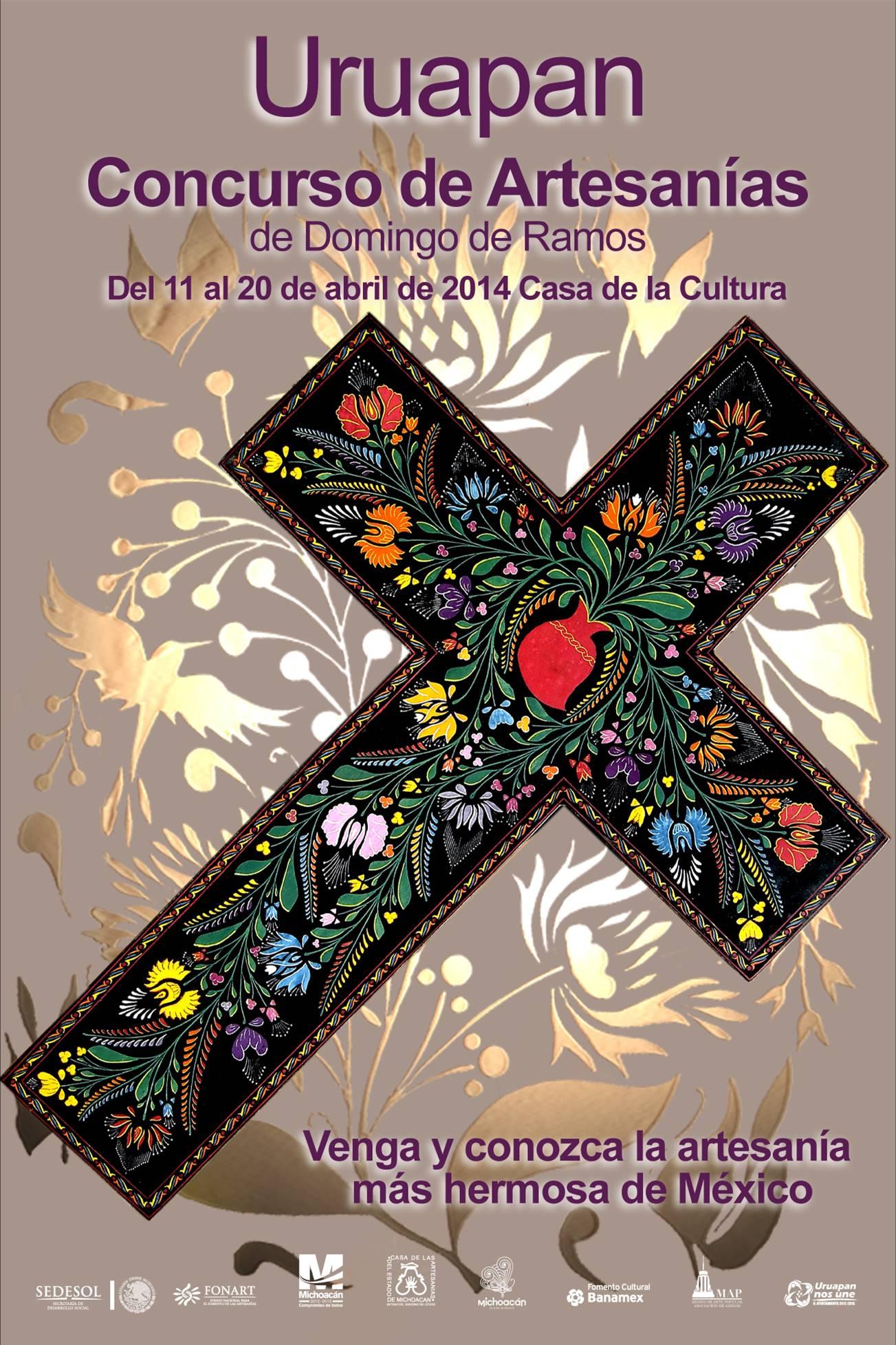 Concurso Estatal de Artesanías de Domingo de Ramos