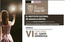 VI Concurso de Canto Operístico