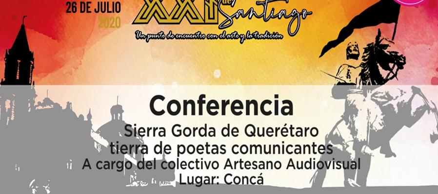 Conferencia: Sierra Gorda de Querétaro tierra de poetas comunicantes