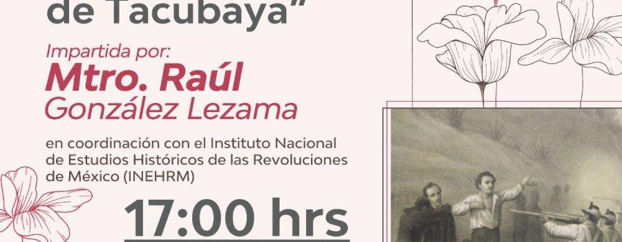 En memoria de los mártires de Tacubaya.