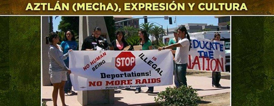 Movimiento Estudiantil Chicano de Aztlán (MEChA), expresión y cultura