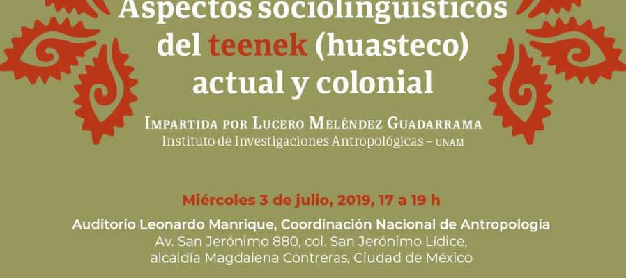 Ciclo de conferencias 2019 en el marco del año internacional de las Lenguas Indígenas