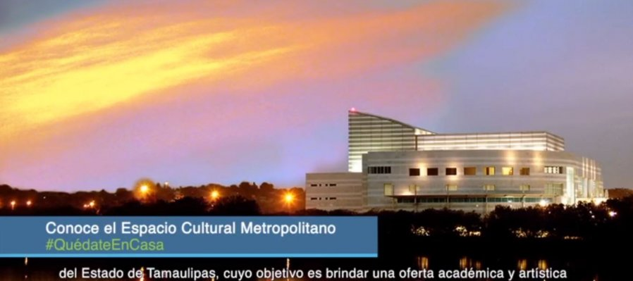 Conoce el Espacio Cultural Metropolitano