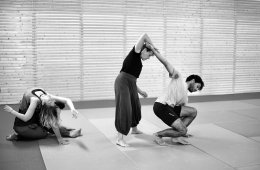 Contemporary Dance Workshop, Floor Exercises. The Body As...