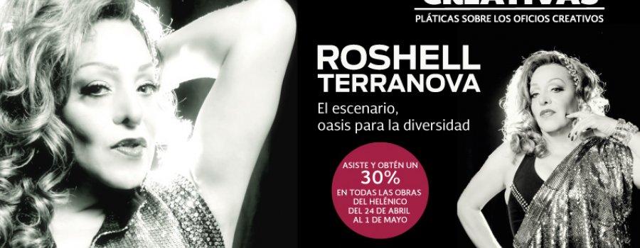 Música, charla y performance con Roshell Terranova