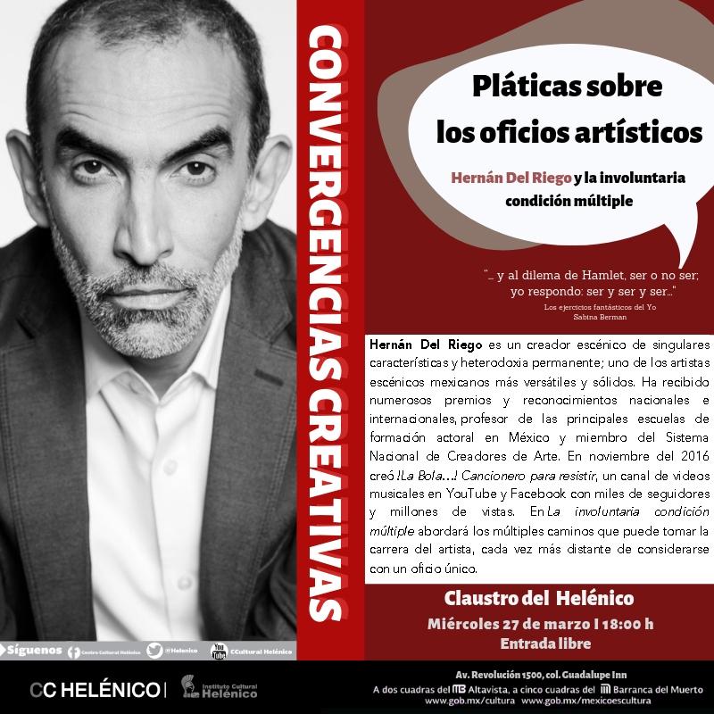 Hernán del Riego y la involuntaria condición múltiple