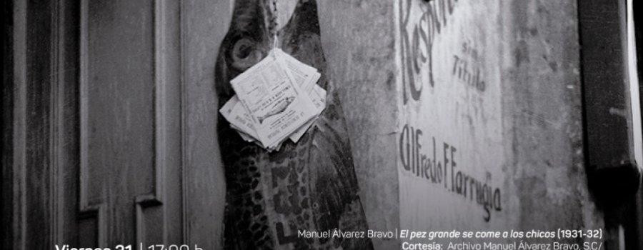 Conferencia: Autonomías expresivas: Fotografía moderna en México