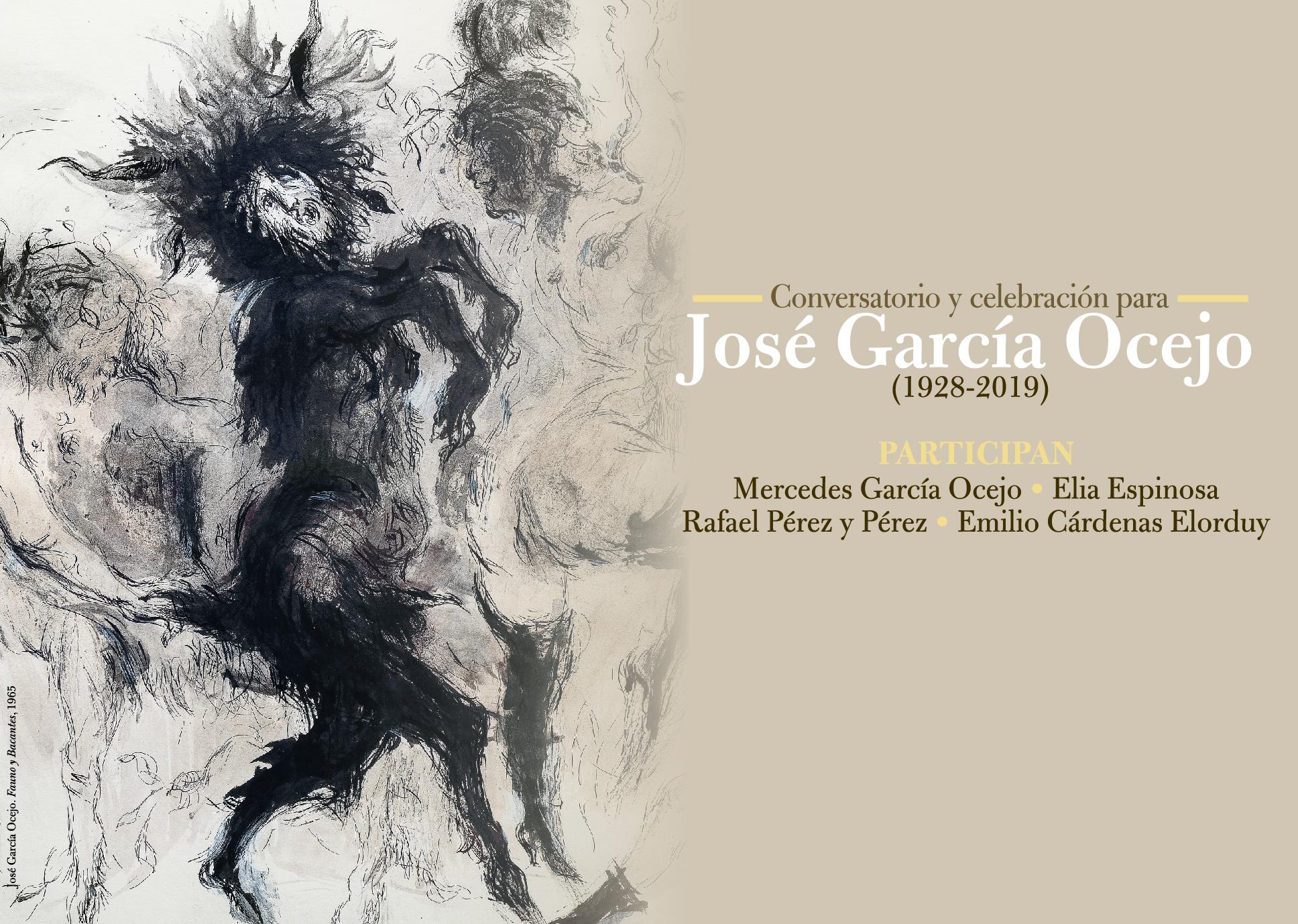 Conversatorio y celebración para José Garcia Ocejo