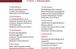 Ciclo de conferencias sobre los contenidos de la exposici...