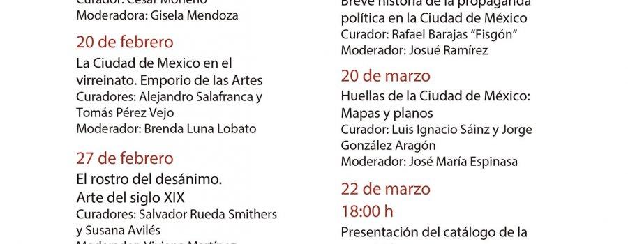 Ciclo de conferencias sobre los contenidos de la exposición La Ciudad de México en el arte.