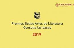 2019 José Rubén Romero Fine Arts Award of Novel