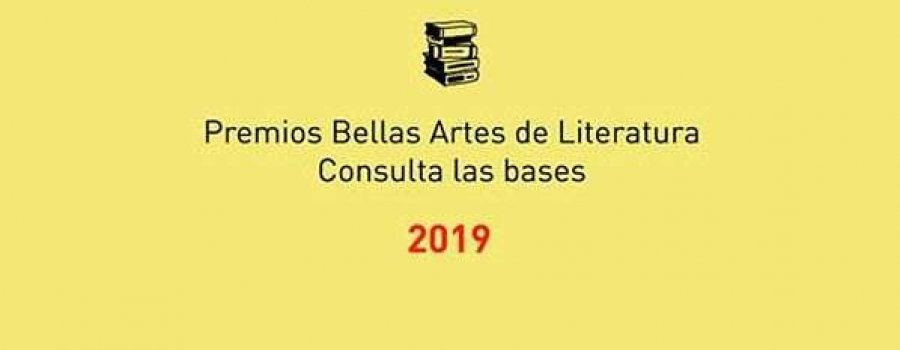 Premio Bellas Artes de Novela José Rubén Romero 2019