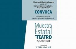 Muestra Estatal de Teatro Zacatecas 2018