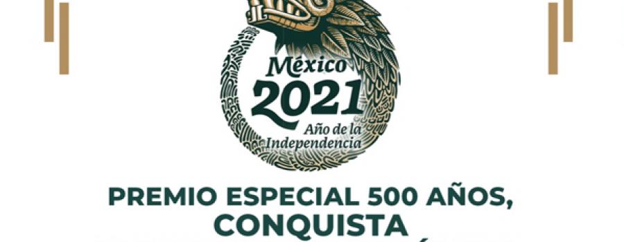 Premio especial 500 años conquista y resistencia indígena