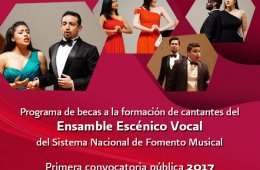 Convocatoria para integrar al Ensamble Escénico Vocal del SNFM