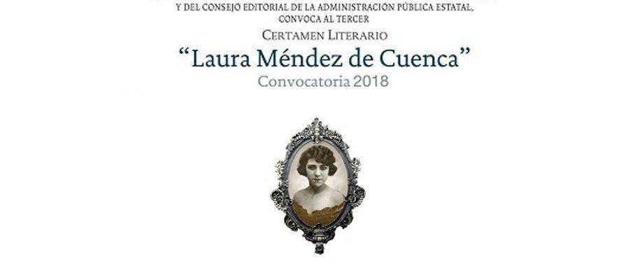 Tercer Certamen Literario Laura Méndez de Cuenca 2018