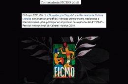 Convocatoria FICMO 2018