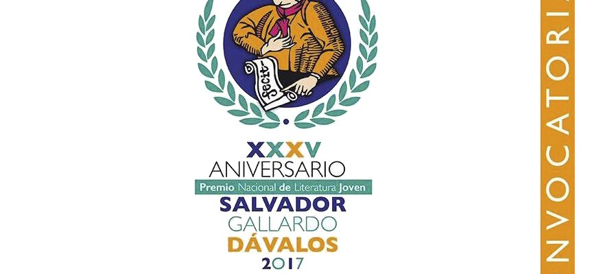 XXXV Premio Nacional de Literatura Joven Salvador Gallardo Dávalos