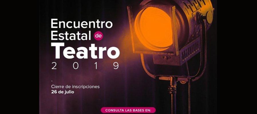 Convocatoria Encuentro Estatal de Teatro 2019
