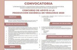 Concurso de apoyo a la creación escénica en Veracruz 20...