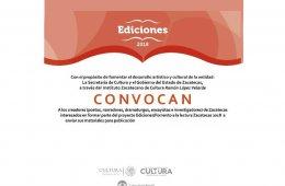 Convocatoria Ediciones 2018