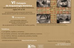 VI Coloquio de Arqueología Histórica