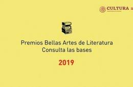 Premio Bellas Artes Juan Rulfo para Primera Novela 2019