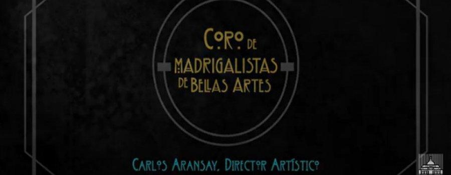 El Mesías con el  Coro Madrigalista
